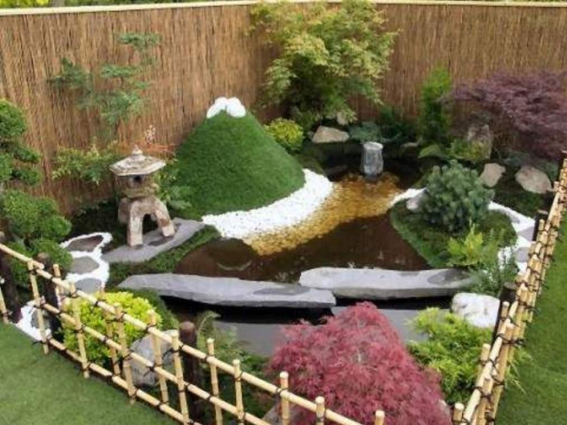 mini japanese garden design ideas photo - 10