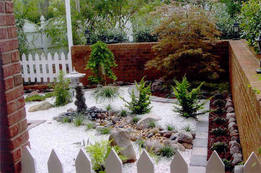 mini japanese garden design ideas photo - 4