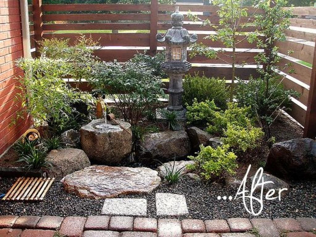 mini japanese garden design ideas photo - 6