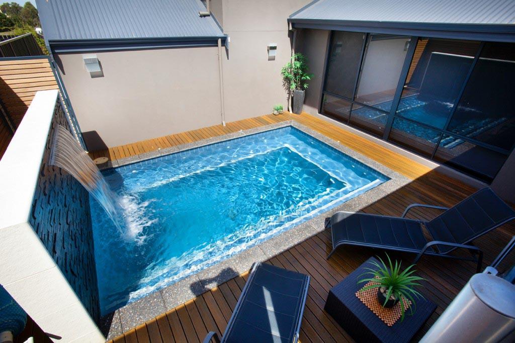 mini swimming pool ideas photo - 1