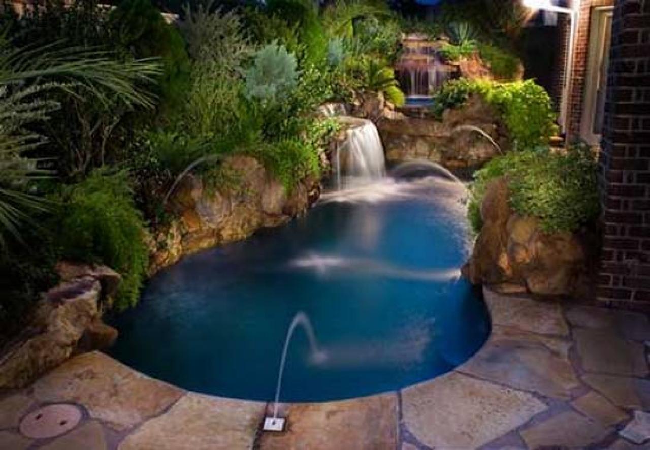 mini swimming pool ideas photo - 2