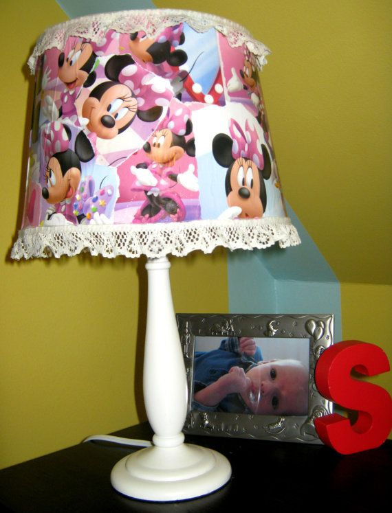 minnie mouse bedroom lamp photo - 10