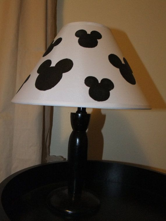 minnie mouse bedroom lamp photo - 7