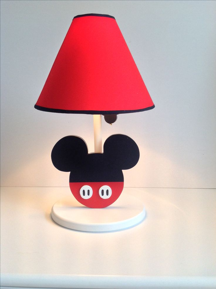 minnie mouse bedroom lamp photo - 8