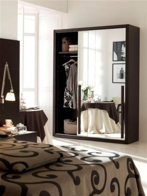 mirrored bedroom furniture ideas photo - 2