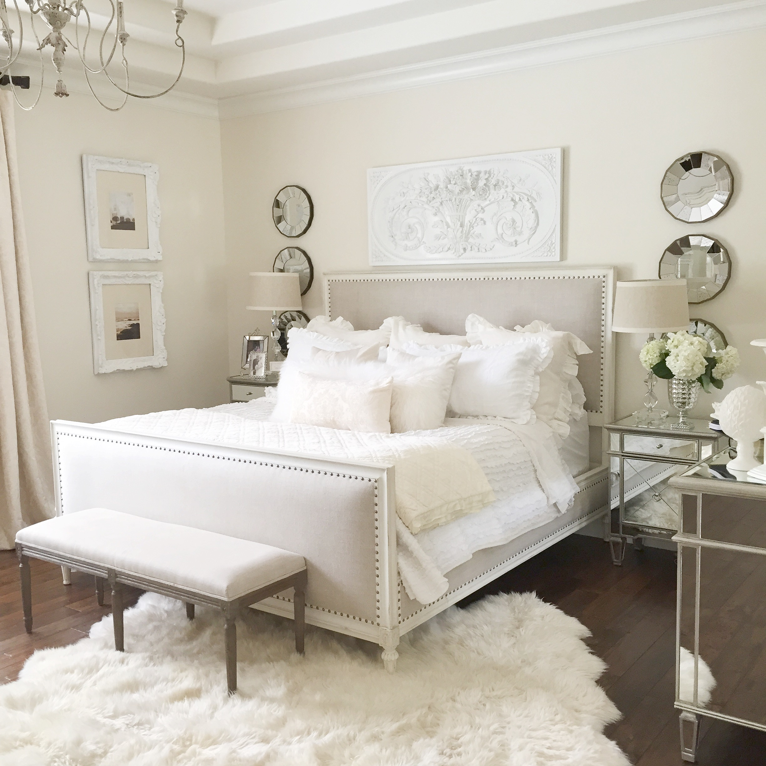 mirrored bedroom furniture ideas photo - 8