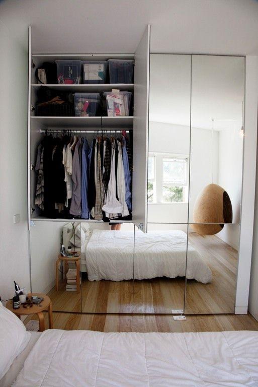 mirrored closet doors feng shui photo - 4