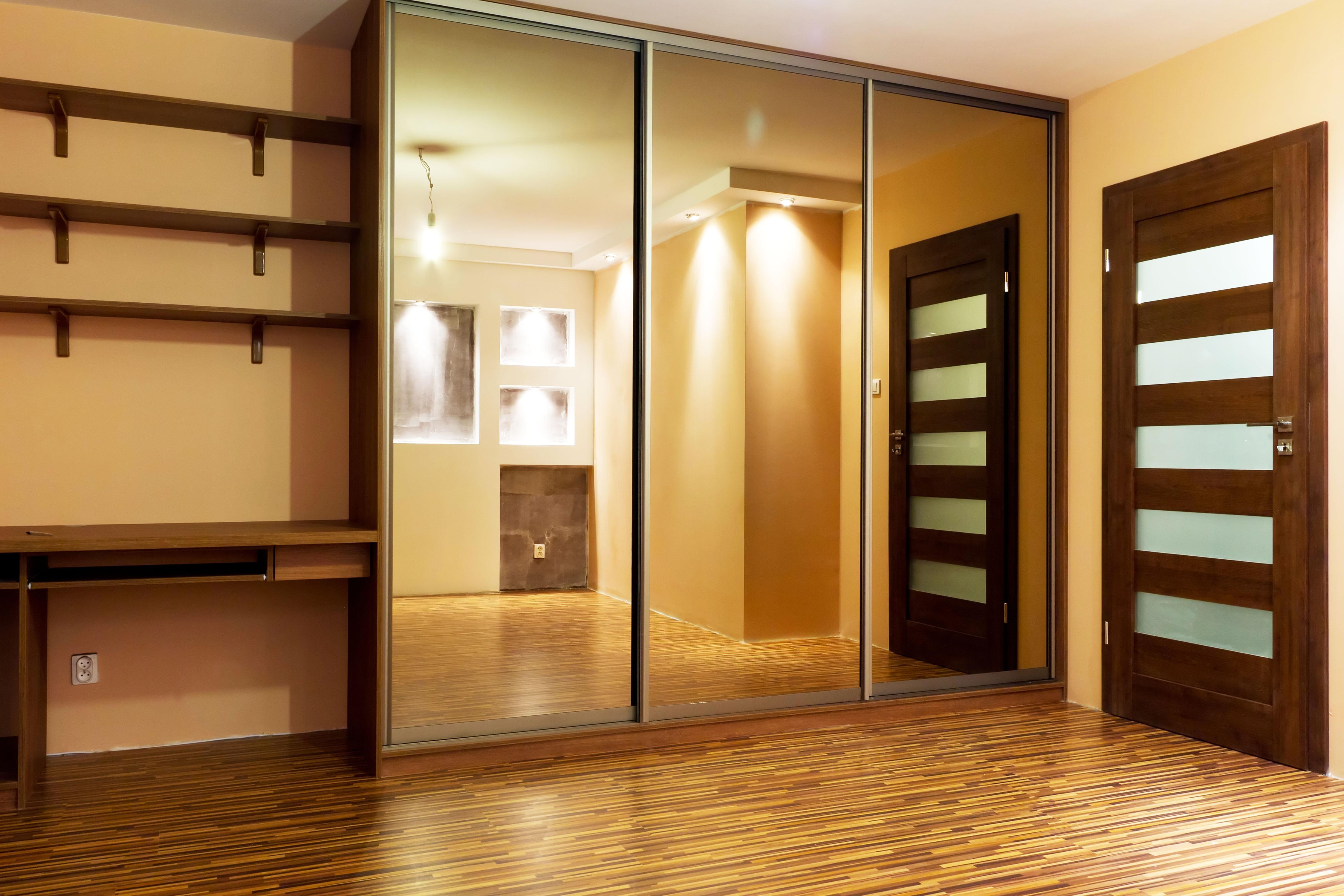 mirrored closet doors feng shui photo - 5