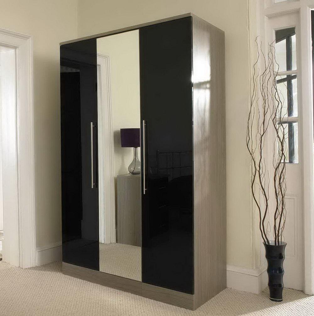 mirrored closet doors frameless photo - 6