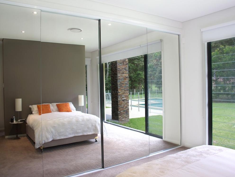 Mirrored Closet Doors Frameless Hawk Haven
