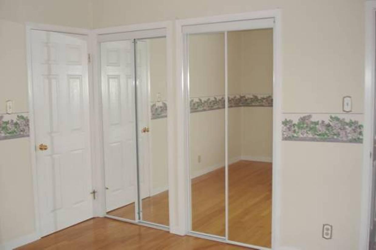 mirrored closet doors menards photo - 9