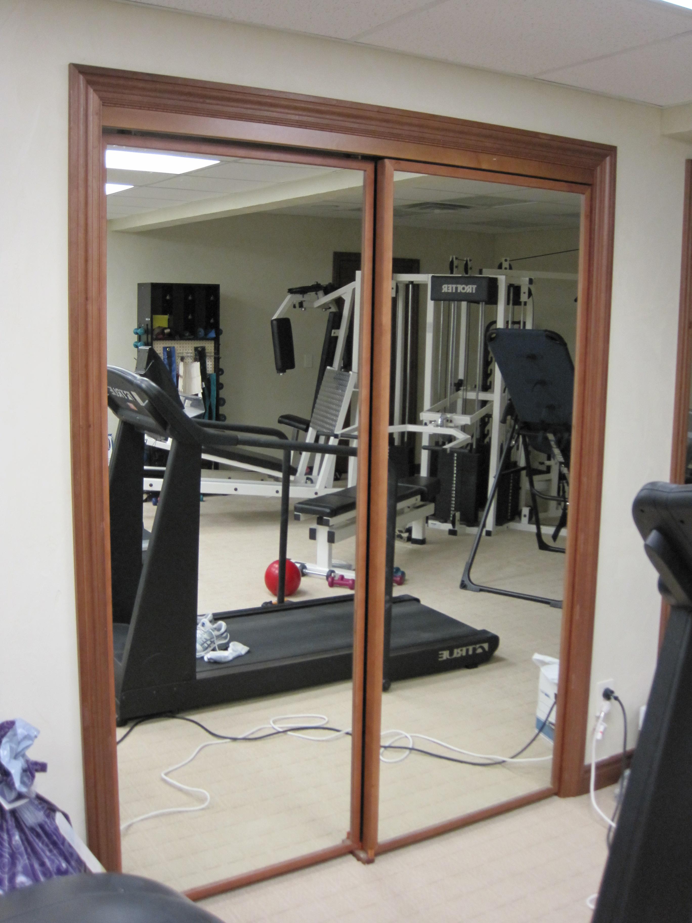 mirrored closet doors modern photo - 8