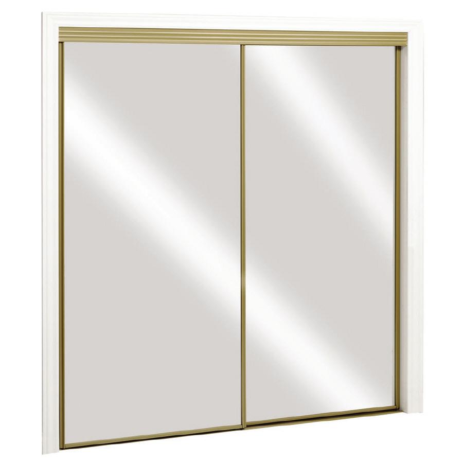 mirrored closet doors sliding photo - 8