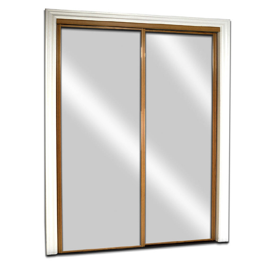 mirrored closet doors sliding photo - 9