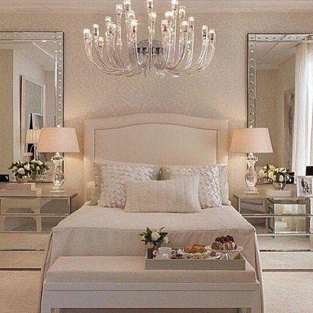 mirrored furniture bedroom designs photo - 2