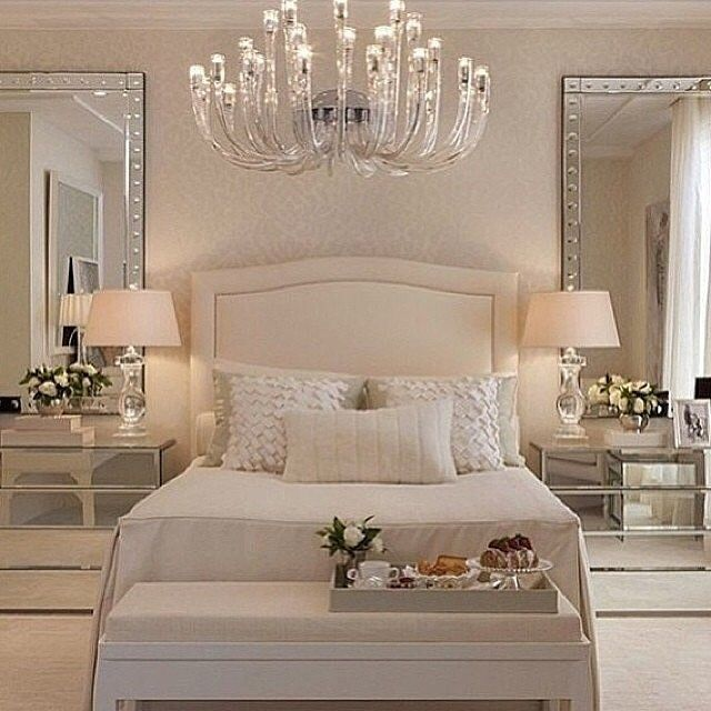 mirrored furniture bedroom set photo - 7