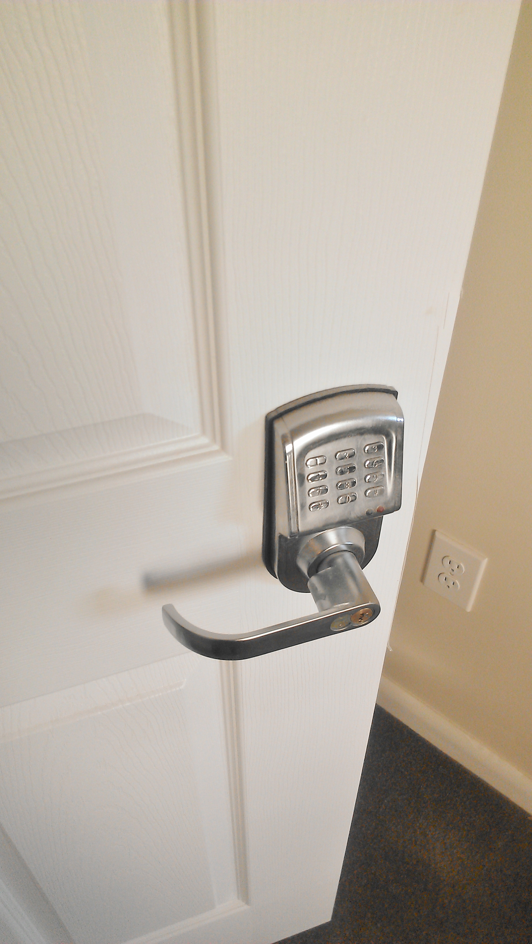 Mirrored Sliding Closet Door Lock Hawk Haven