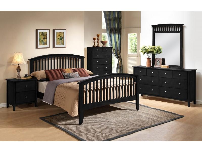 mission style bedroom furniture black  hawk haven