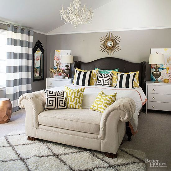 Bedroom Wall Paint Ideas Bedroom Ideas Modern Black And White Chevron Bedroom Ideas Bedroom Ideas For Little Girls: Mix Match Bedroom Furniture Ideas