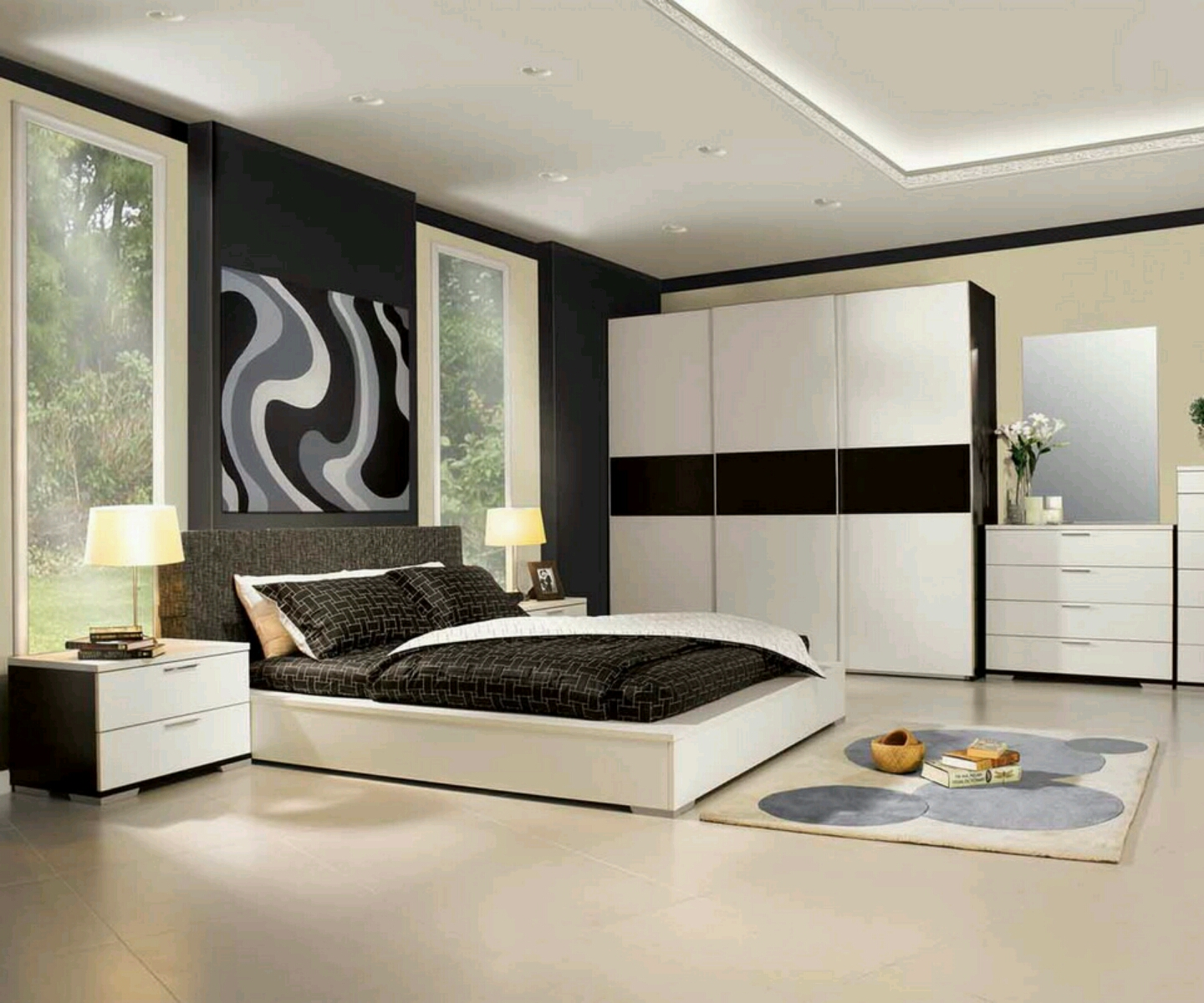 modern bedroom furniture design ideas photo - 3