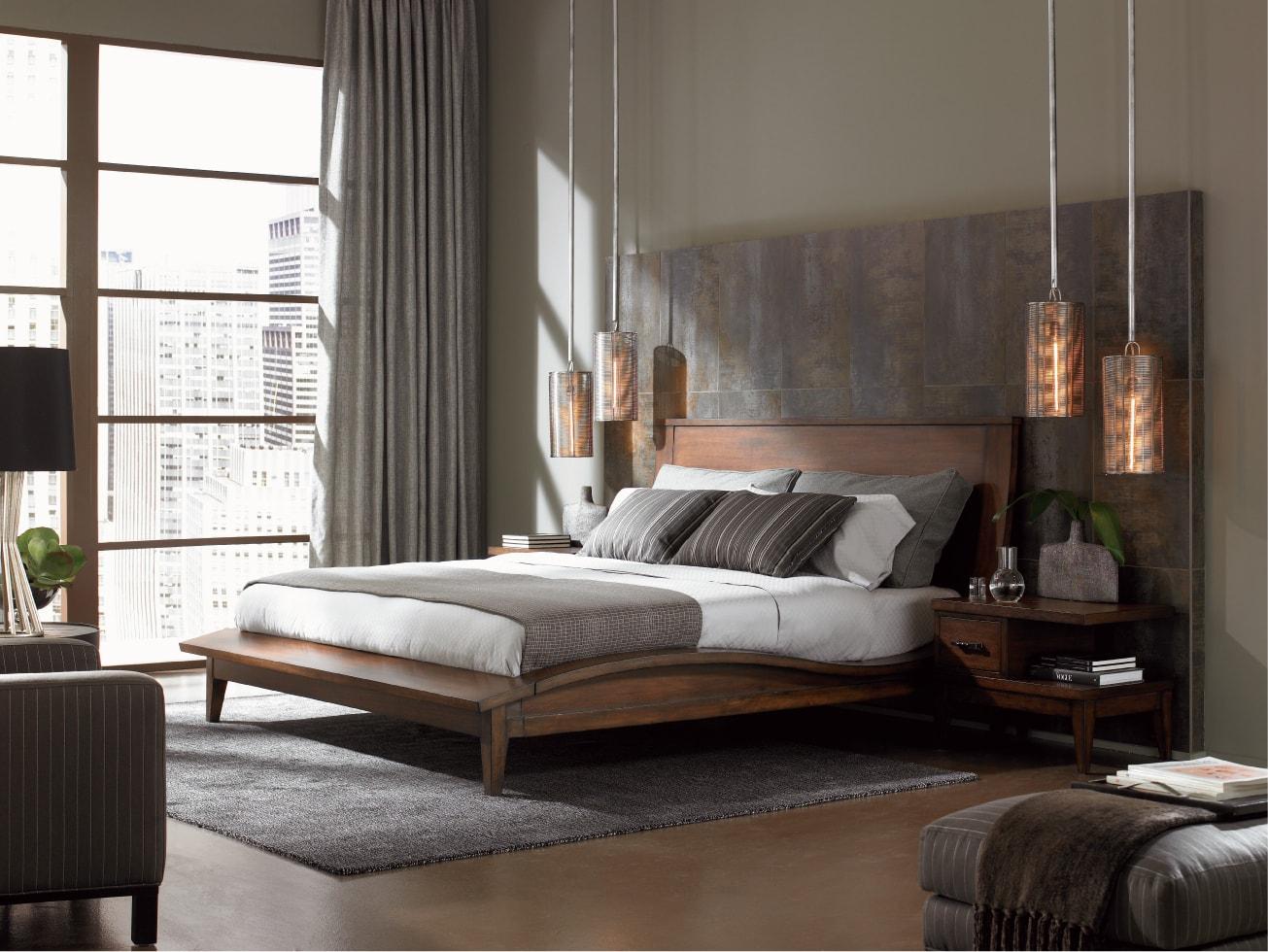 modern bedroom lighting photo - 10
