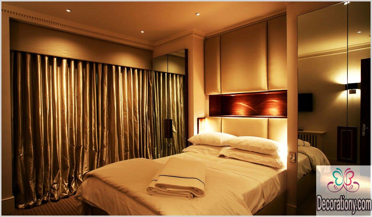 modern bedroom lighting photo - 4