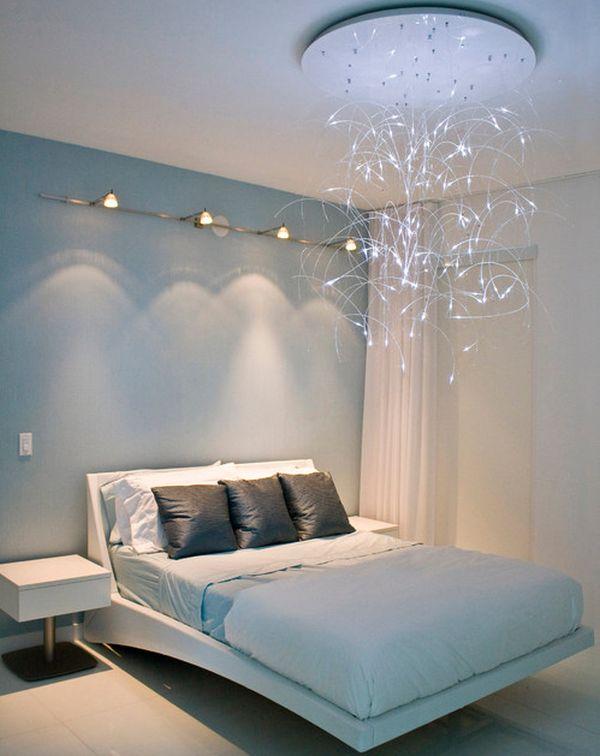 modern bedroom lighting photo - 6