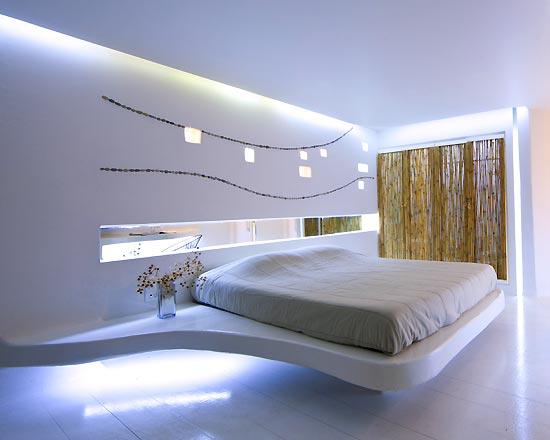 modern bedroom lighting photo - 7
