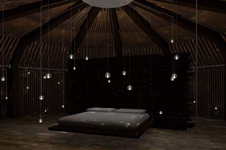 modern bedroom lighting photo - 8