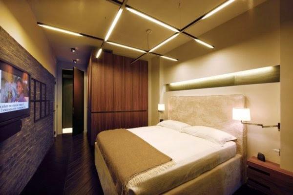 Modern Bedroom Lighting Ceiling Photo   2
