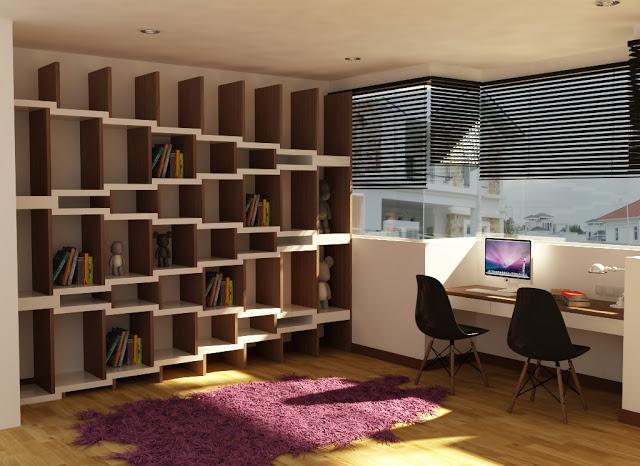 modern book cabinet design photo - 6 & Modern book cabinet design | Hawk Haven