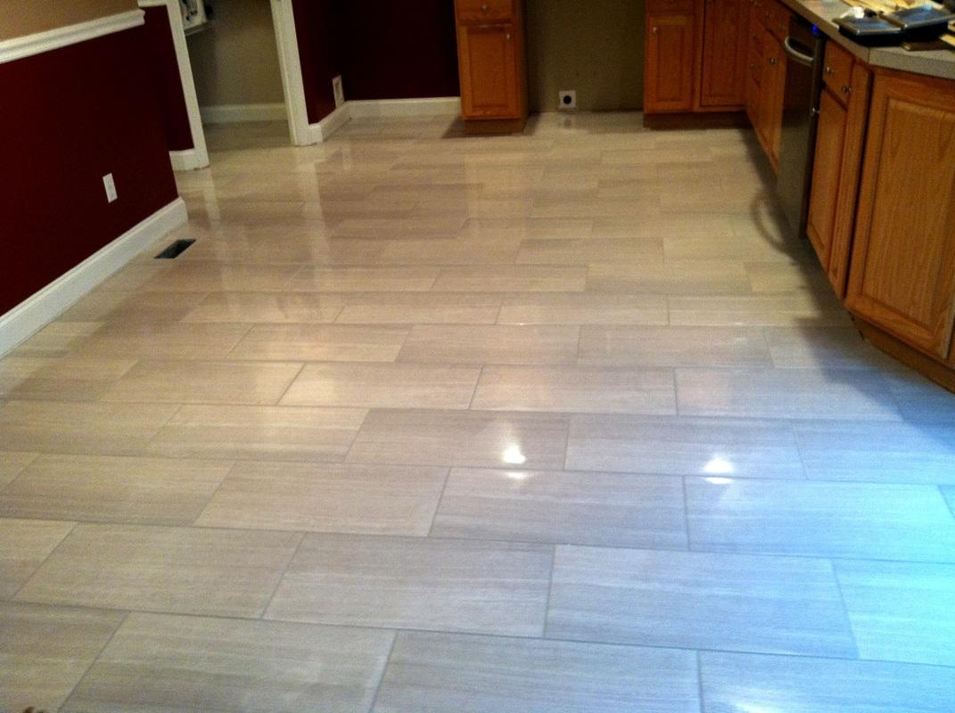modern ceramic floor tile photo - 7