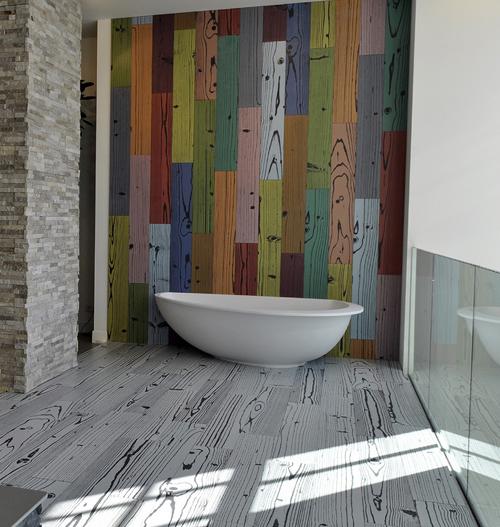modern ceramic floor tile photo - 9