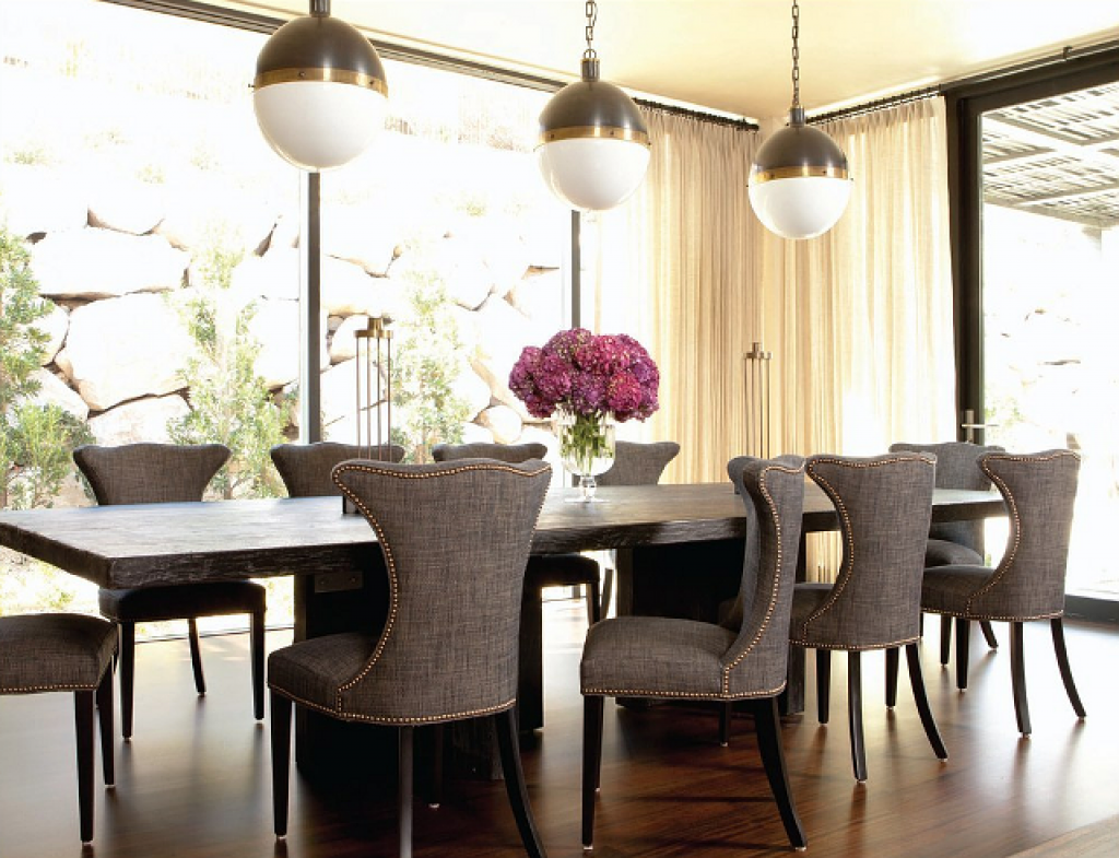 modern classic dining room photo - 7