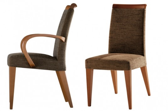 modern classic dining room chairs photo - 2