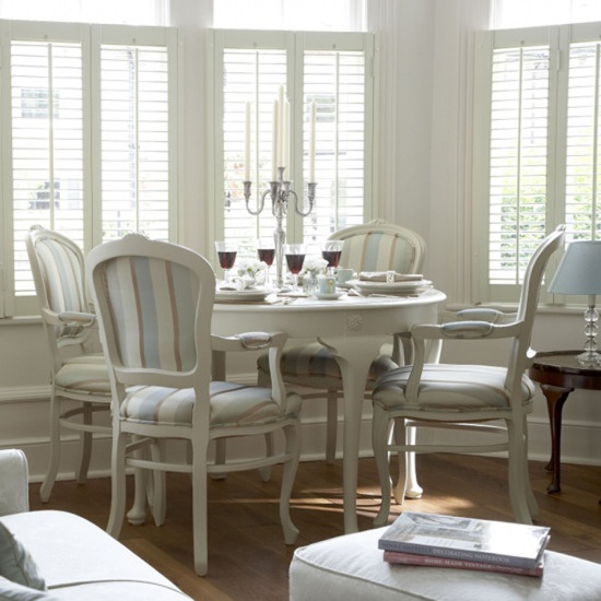 modern classic dining room chairs photo - 4