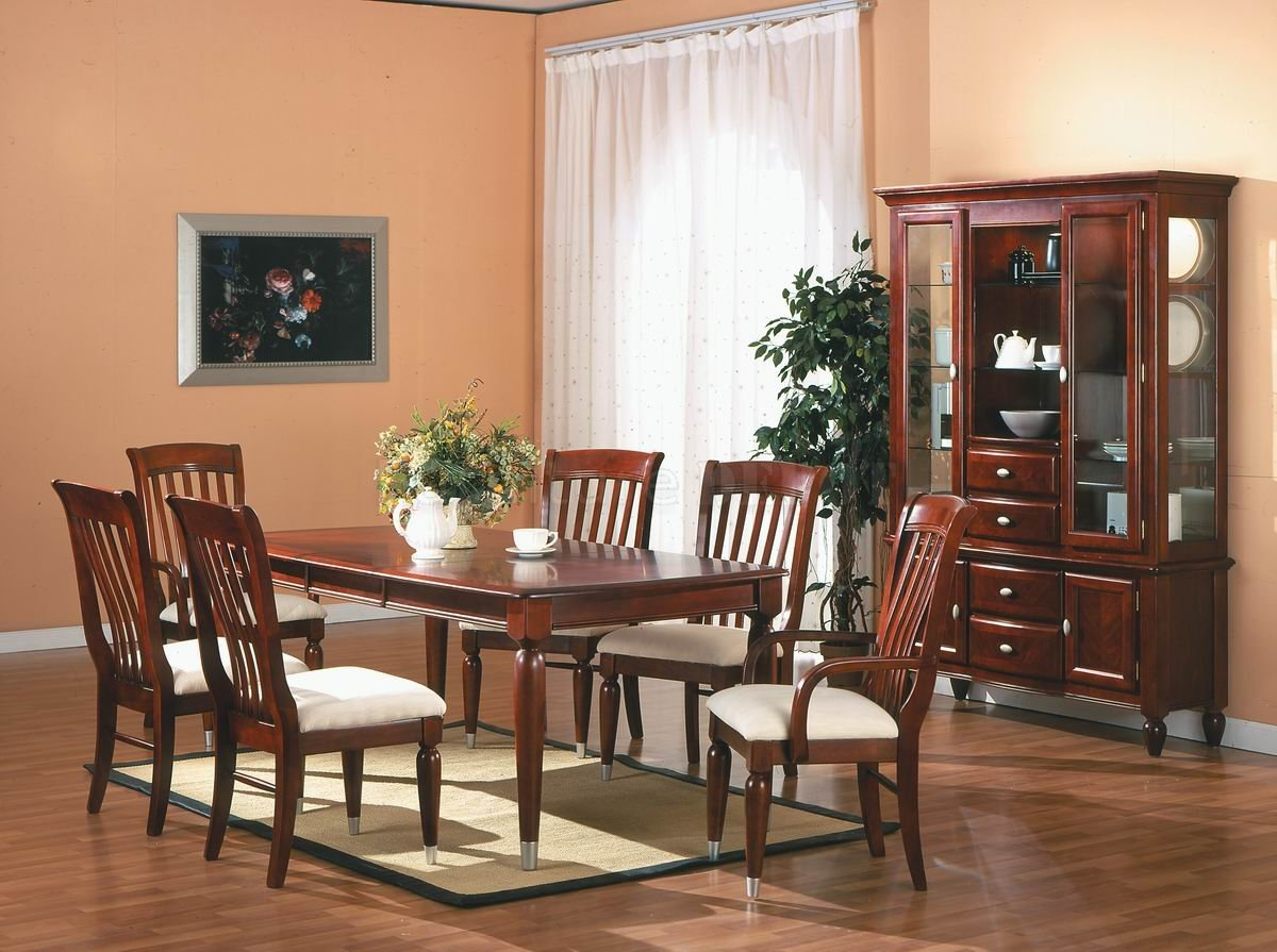 modern classic dining room chairs photo - 5