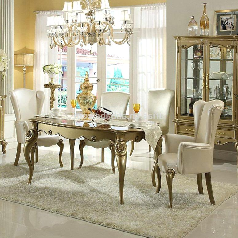 modern classic dining room chairs photo - 9