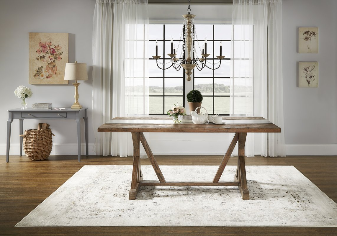 modern classic dining table photo - 4