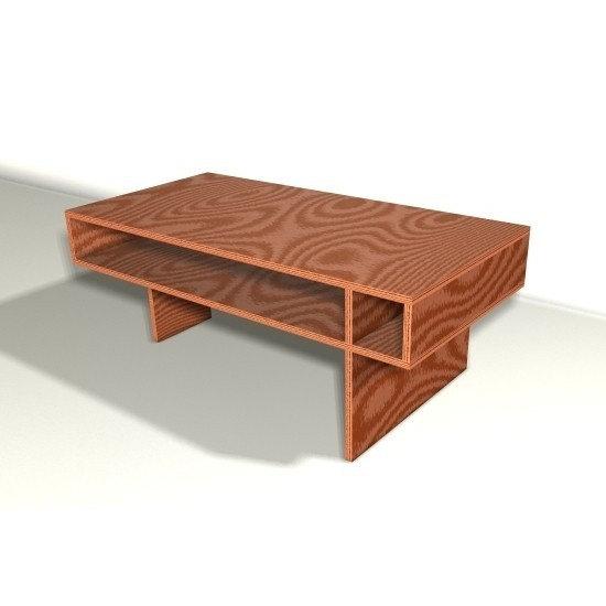modern coffee table design plans photo - 3