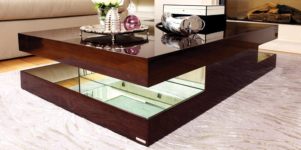 modern coffee table designs wood photo - 10
