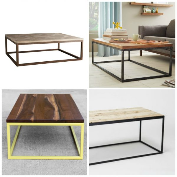 modern coffee table designs wood photo - 8