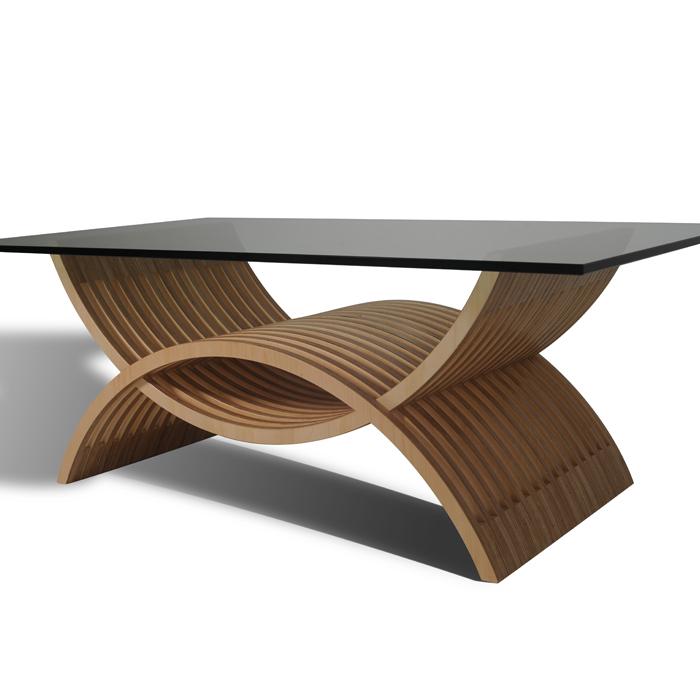 modern coffee table designs wood photo - 9