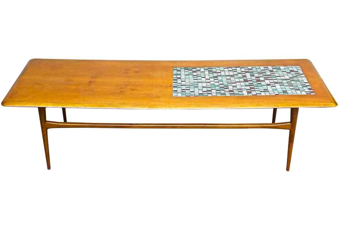modern coffee table mid century photo - 1
