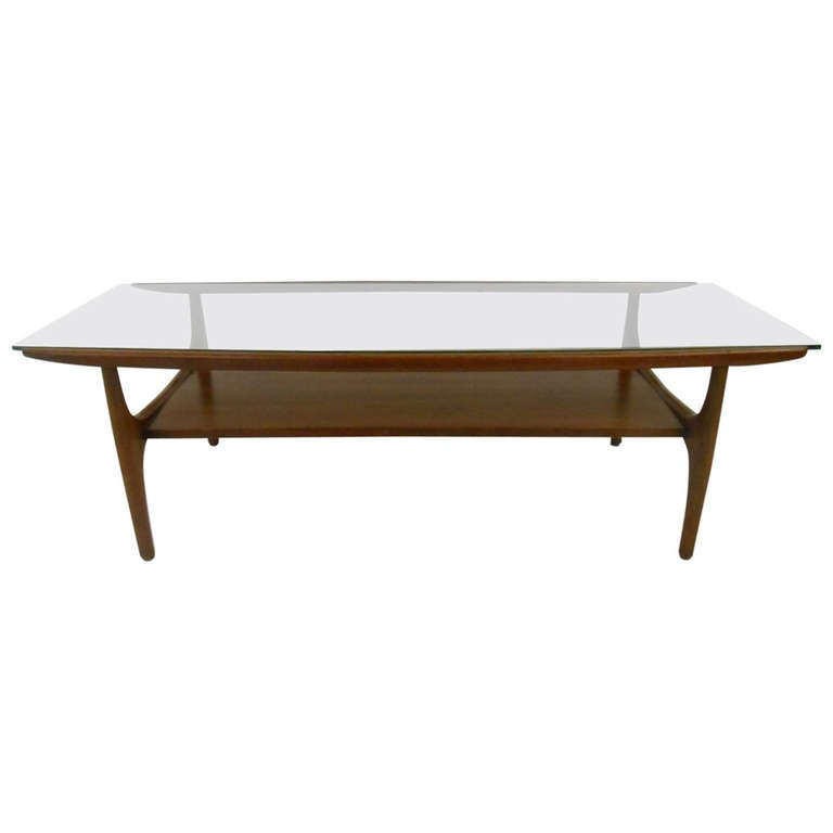modern coffee table mid century photo - 2