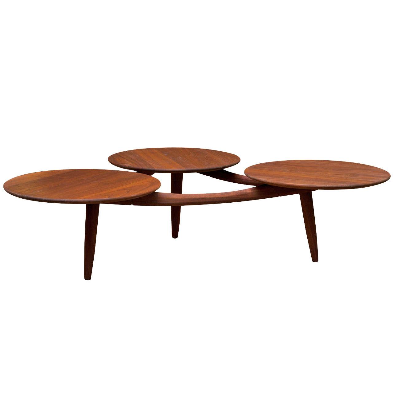modern coffee table mid century photo - 4