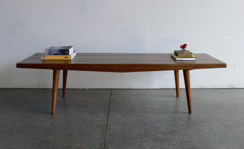 modern coffee table mid century photo - 6