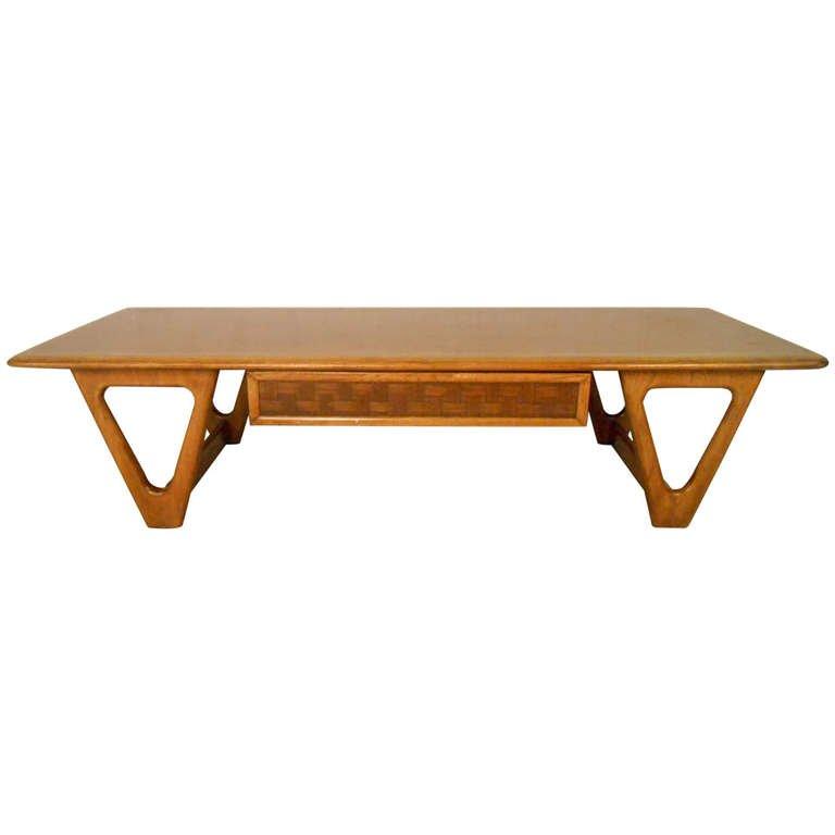 modern coffee table mid century photo - 8
