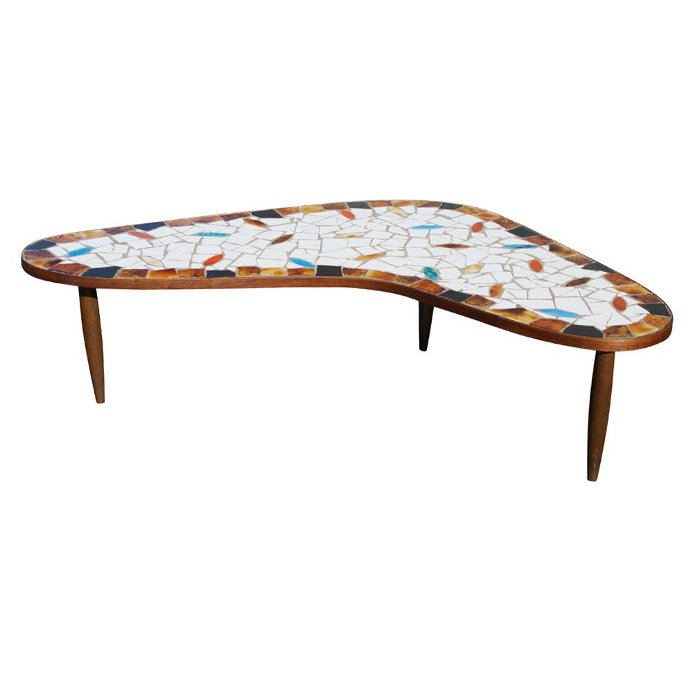 modern coffee table mid century photo - 9