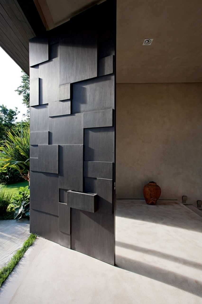 modern contemporary door designs photo - 7